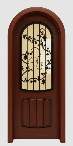 Wine Cellar Doors Amp Wrought Iron Doors Transform Your Home