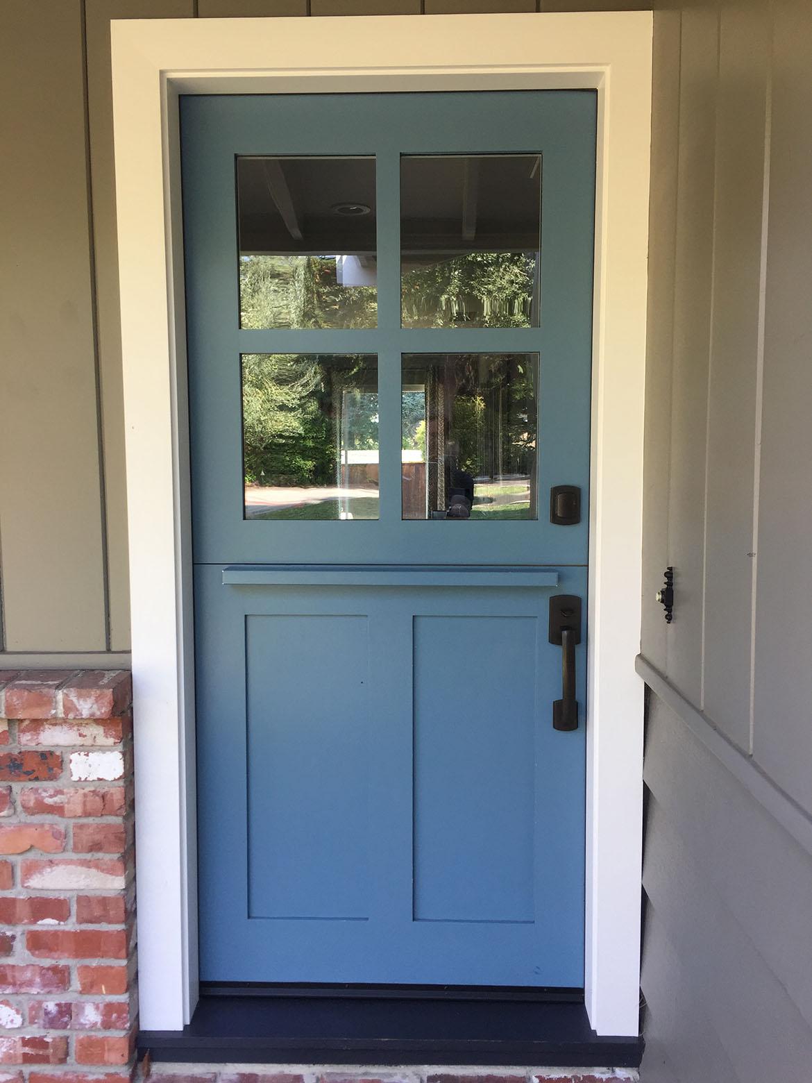 Fiberglass Wood Front Door